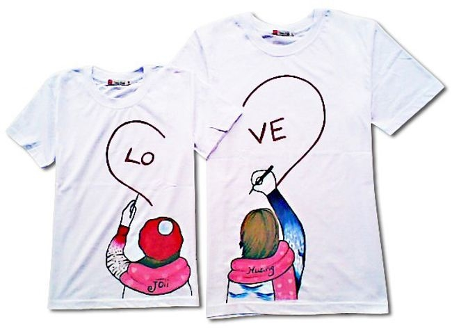 简单好看手绘文化衫图案 可爱手绘文化衫图案