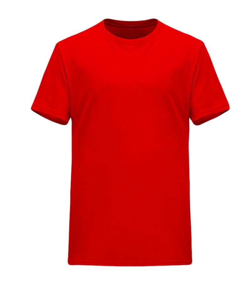 深圳经典纯色纯棉圆领T恤广告衫