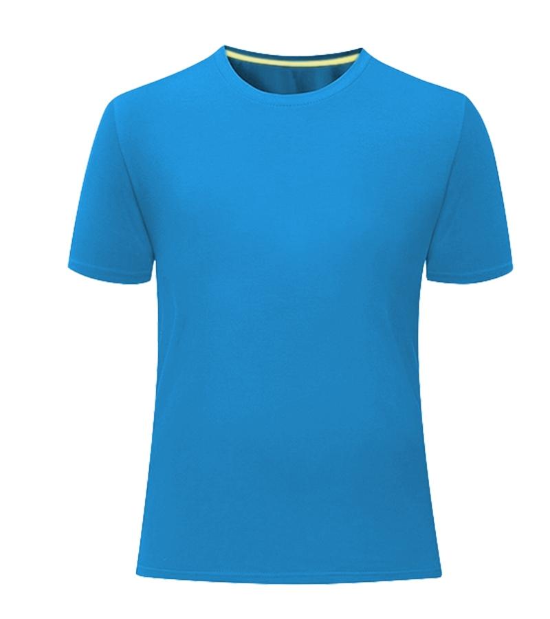 深圳赛洛棉撞色领条圆领T恤
