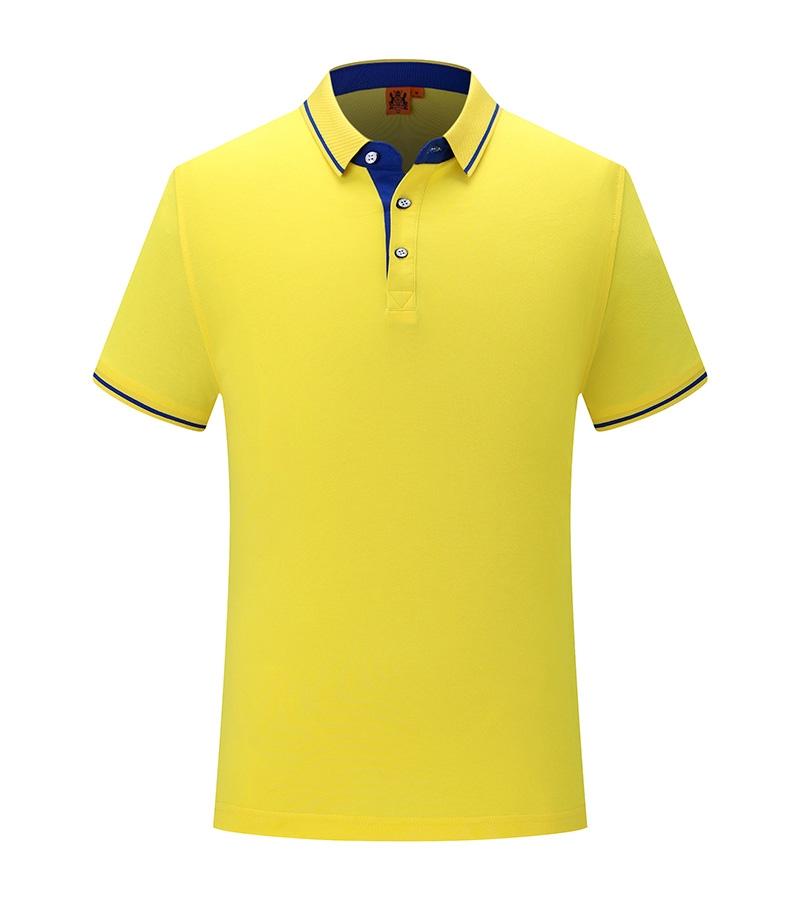 时尚撞色系列polo衫