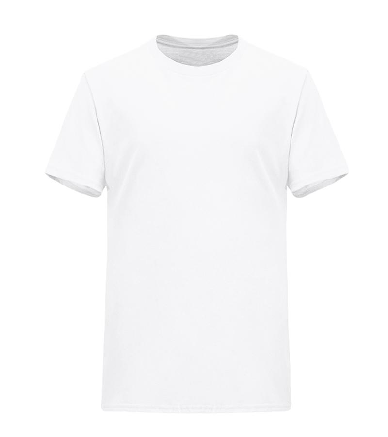 宽松款纯色纯棉广告衫