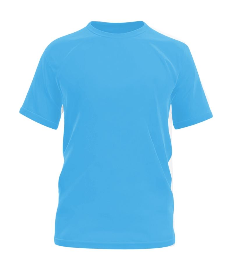 莱卡棉广告衫纯色圆领T恤