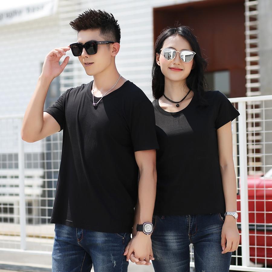 100%冰丝棉广告衫纯色T恤