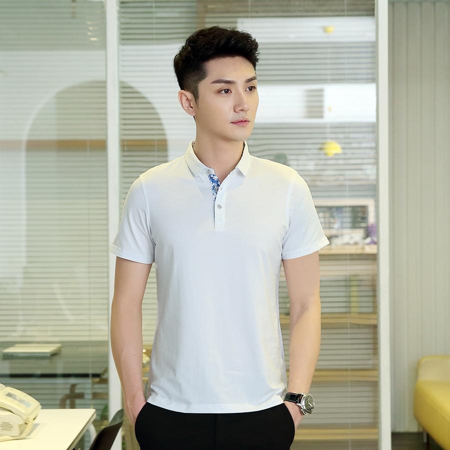 上海青花系列奥代尔棉POLO衫